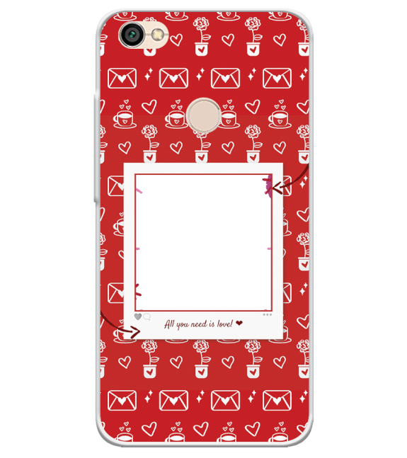 Need is Love Back Cover for Xiaomi Redmi Y1