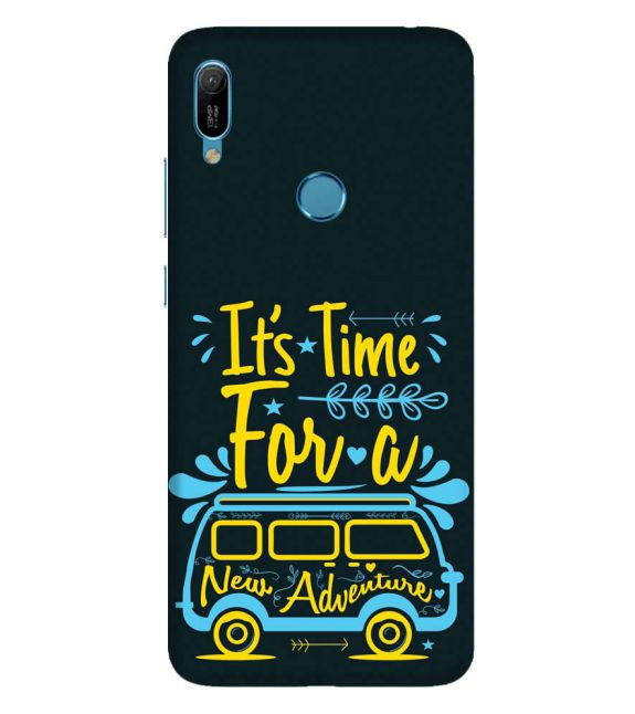 New Adventure Back Cover for Huawei Y6 Prime (2019)