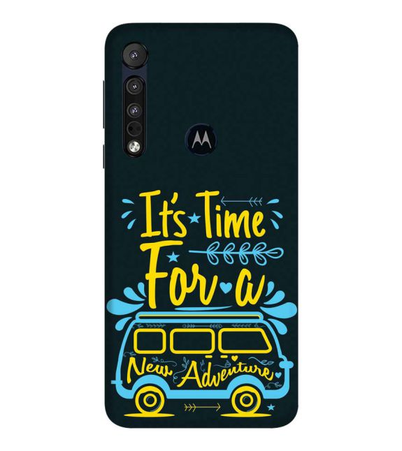 New Adventure Back Cover for Motorola One Macro