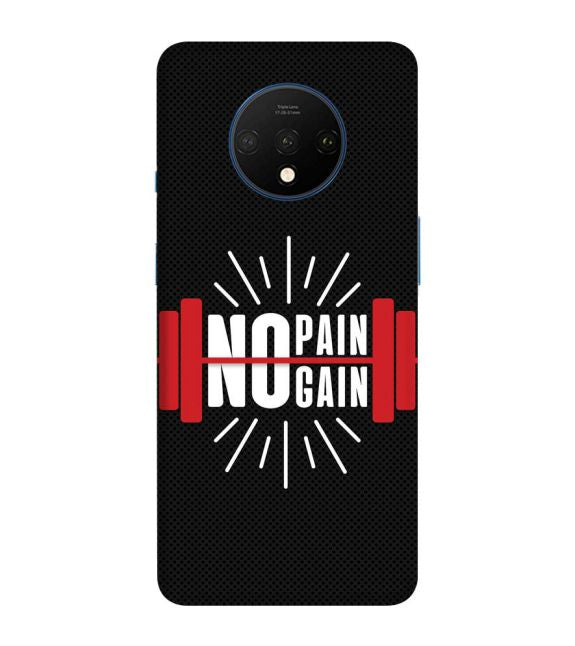No Pain No Gain Back Cover for OnePlus 7T