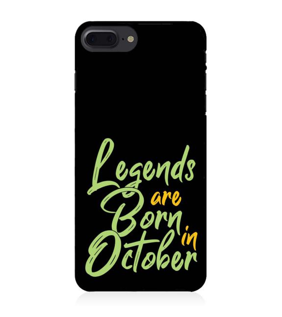 October Legends Back Cover for Apple iPhone 7 Plus