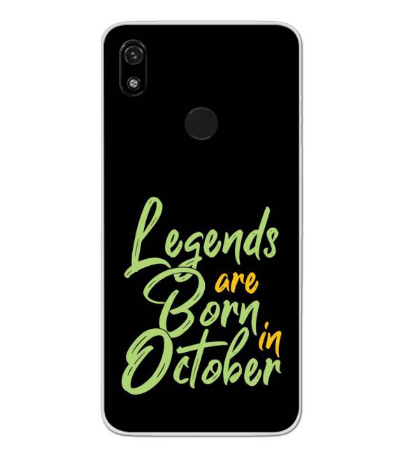 October Legends Back Cover for Gionee F9
