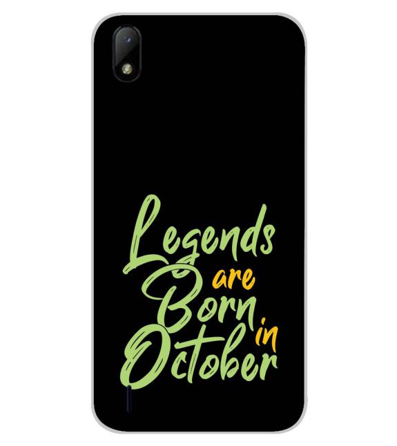 October Legends Back Cover for Lava Z41
