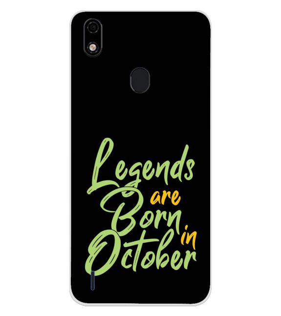 October Legends Back Cover for Lava Z52 Pro