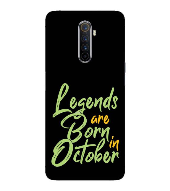 October Legends Back Cover for Oppo Reno Ace