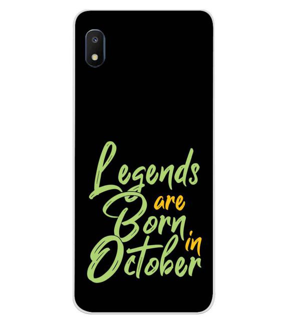 October Legends Back Cover for Samsung Galaxy A10e