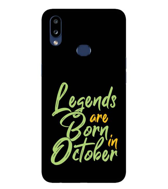 October Legends Back Cover for Samsung Galaxy A10s