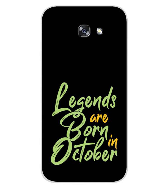 October Legends Back Cover for Samsung Galaxy A7 (2017)
