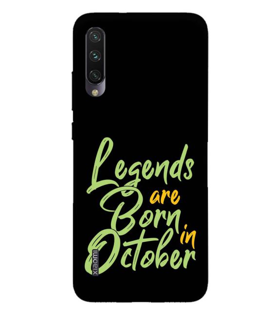 October Legends Back Cover for Xiaomi Mi A3
