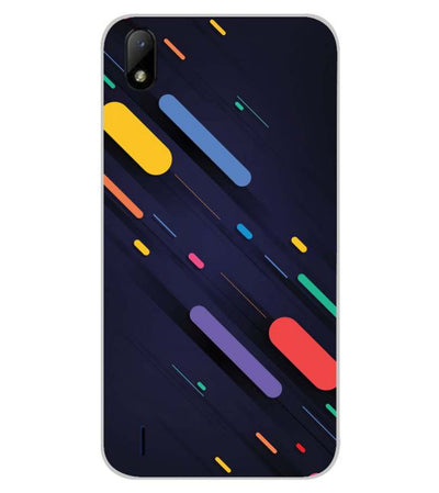 Oval Style Pattern Back Cover for Lava Z41