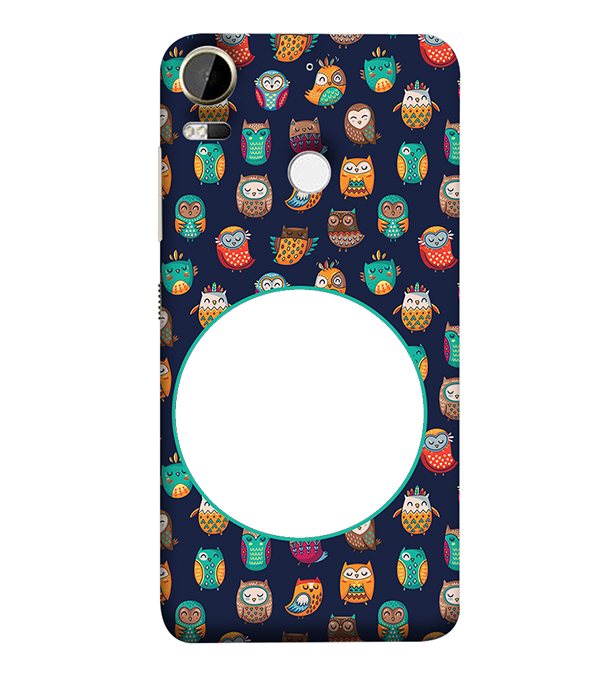 Cool Patterns Photo Back Cover for HTC Desire 10 Pro