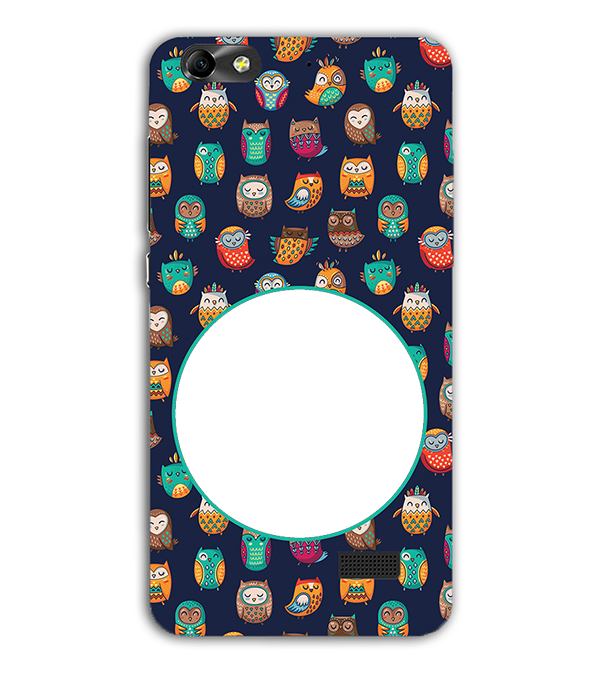 Cool Patterns Photo Back Cover for Huawei Honor 4C