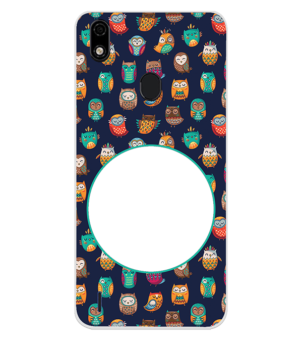 Cool Patterns Photo Back Cover for Lava Z52 Pro