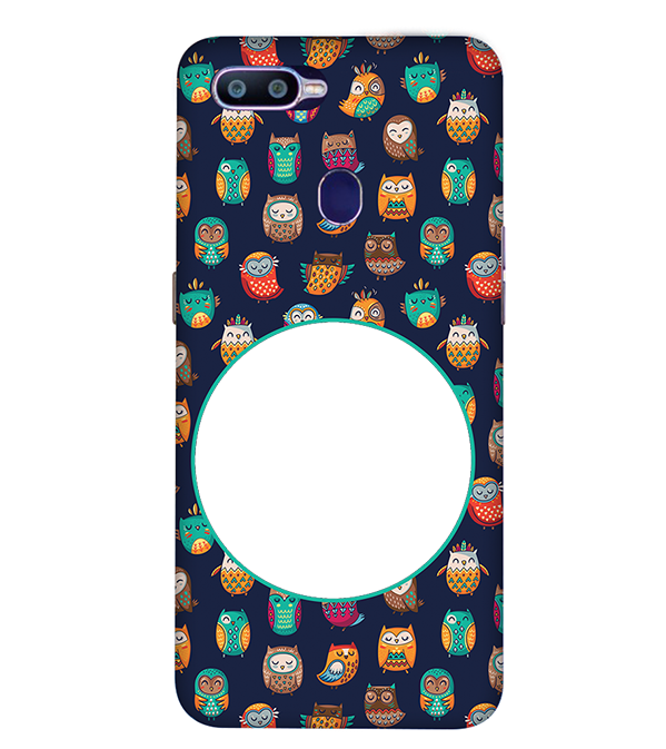 Cool Patterns Photo Back Cover for Oppo R15 Pro