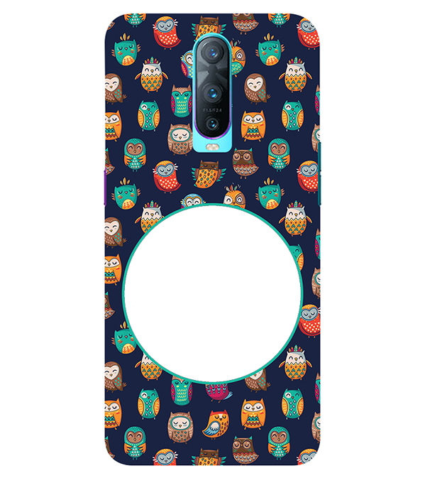 Cool Patterns Photo Back Cover for Oppo RX17 Pro