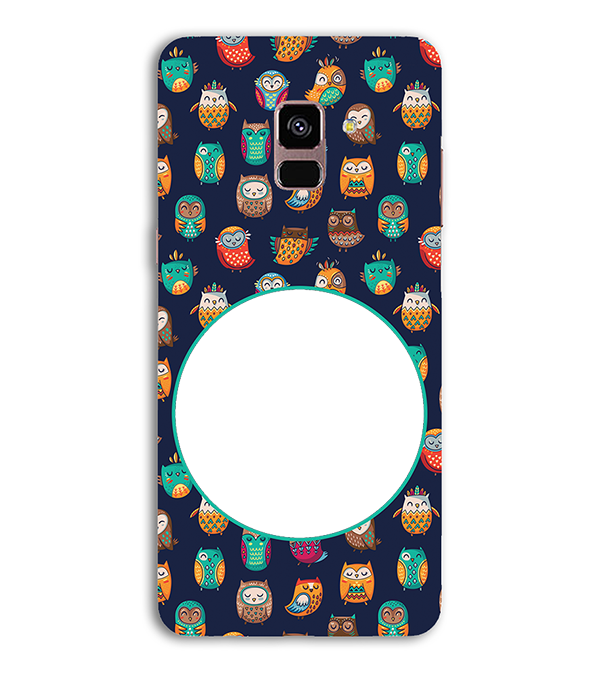 Cool Patterns Photo Back Cover for Samsung Galaxy A8 (2018)