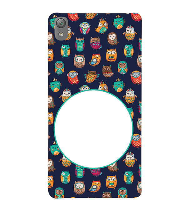 Cool Patterns Photo Back Cover for Sony Xperia E5