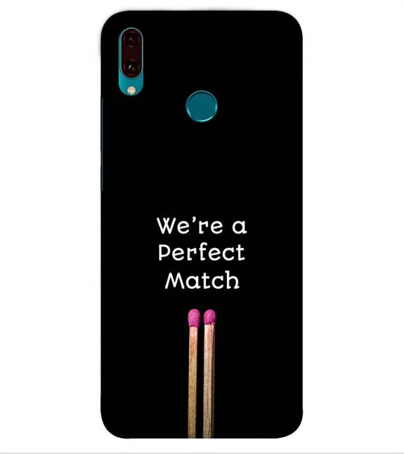 Perfect Match Back Cover for Huawei Y9 (2019)