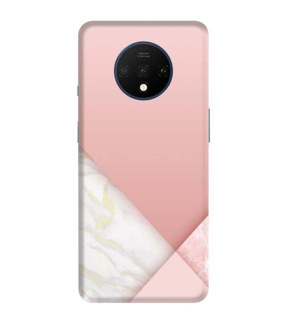 Pinky Marble Back Cover for OnePlus 7T