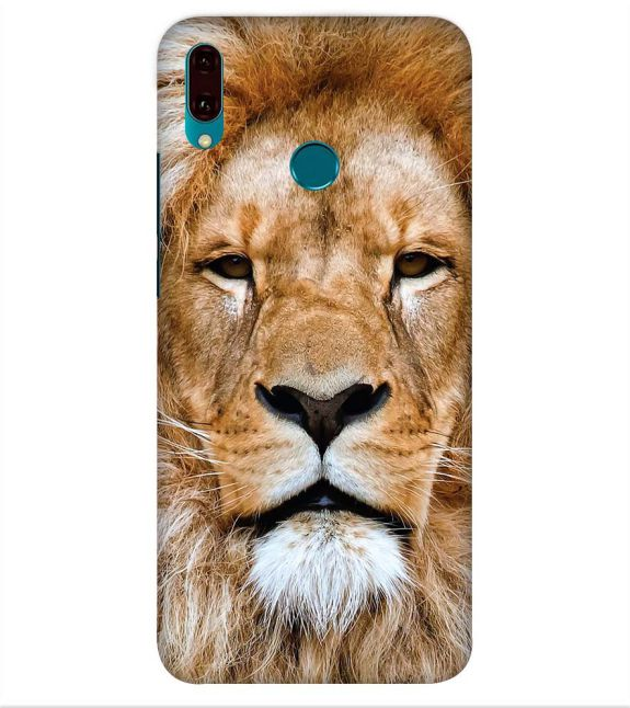 Portrait of Lion Back Cover for Huawei Y9 (2019)