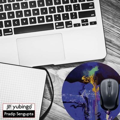 Brightest One Mouse Pad (Round)-Image4