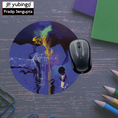 Brightest One Mouse Pad (Round)-Image5
