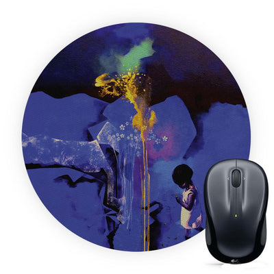 Brightest One Mouse Pad (Round)