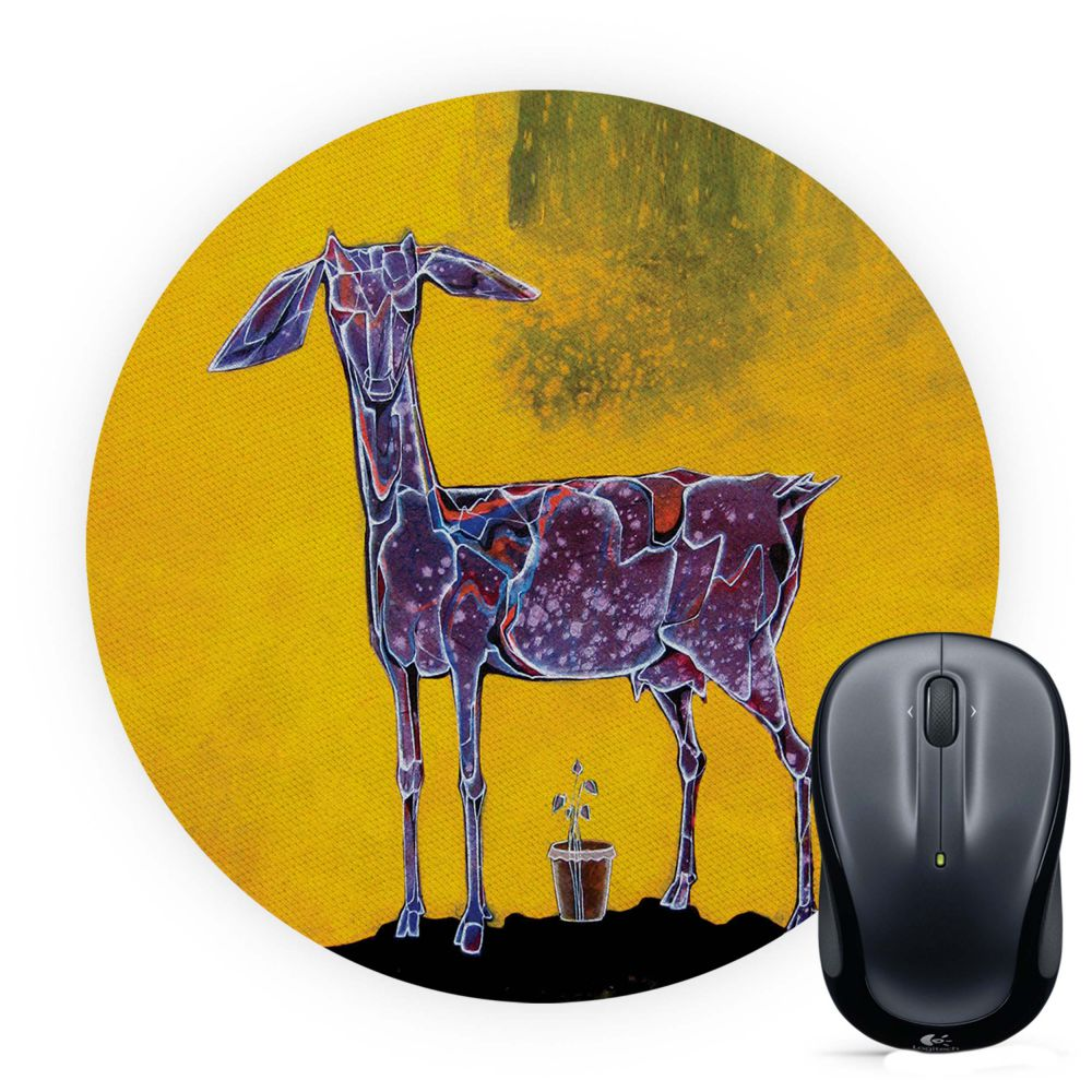 Expecting Mother Mouse Pad (Round)