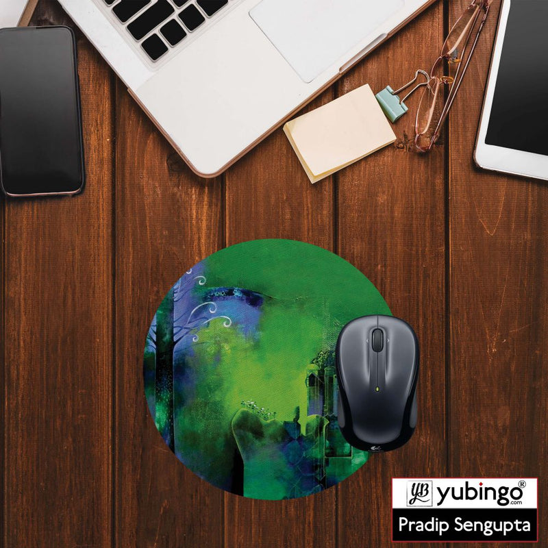 I m Lost Mouse Pad (Round)