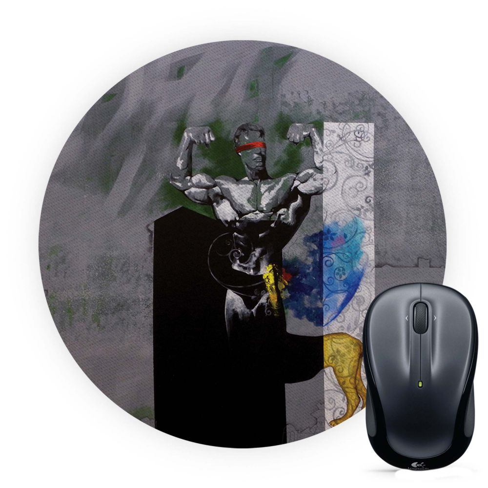 Leo The Great Mouse Pad (Round)
