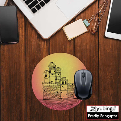 Structure Mouse Pad (Round)-Image2