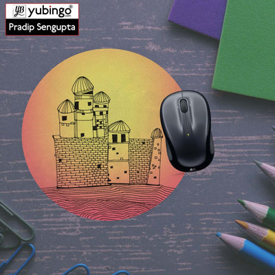 Structure Mouse Pad (Round)-Image5