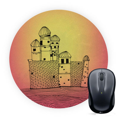 Structure Mouse Pad (Round)