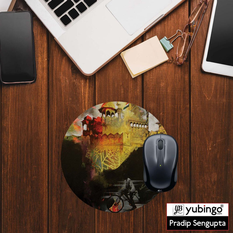 Welcome to Delhi Mouse Pad (Round)