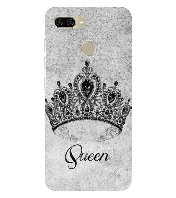 Queen Back Cover for Gionee S11 lite