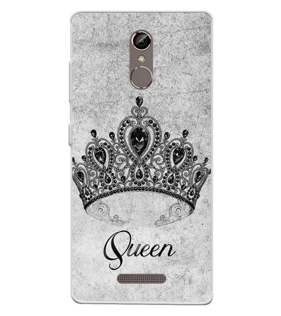 Queen Back Cover for Gionee S6s