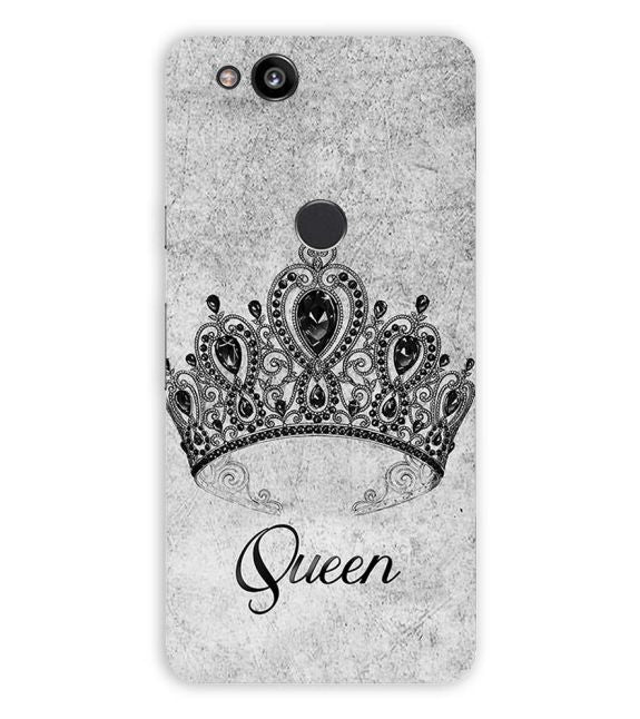 Queen Back Cover for Google Pixel 2 (5 Inch Screen)