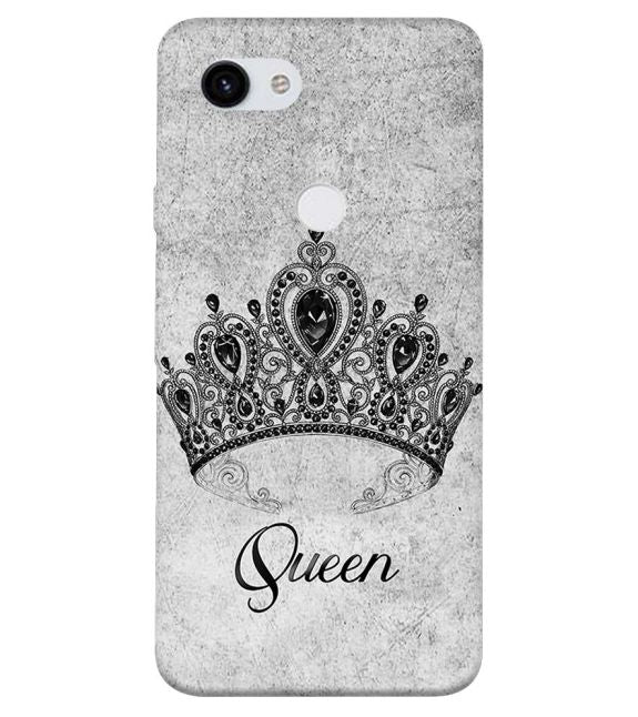 Queen Back Cover for Google Pixel 3a