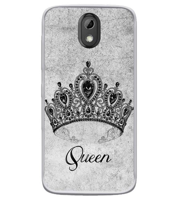 Queen Back Cover for HTC Desire 526