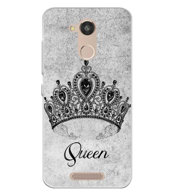 Queen Back Cover for InFocus Turbo 5s