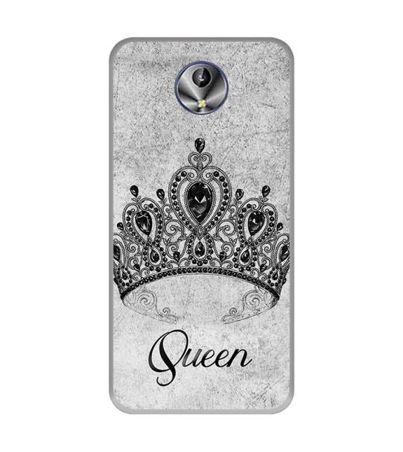 Queen Back Cover for Intex Amaze+