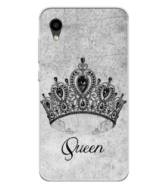 Queen Back Cover for Intex Aqua 4G Mini