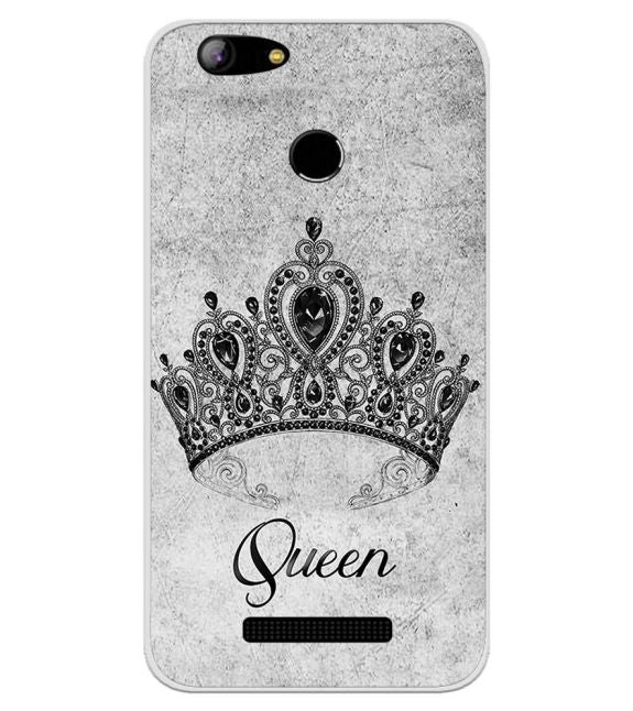 Queen Back Cover for Intex Aqua Lions X1
