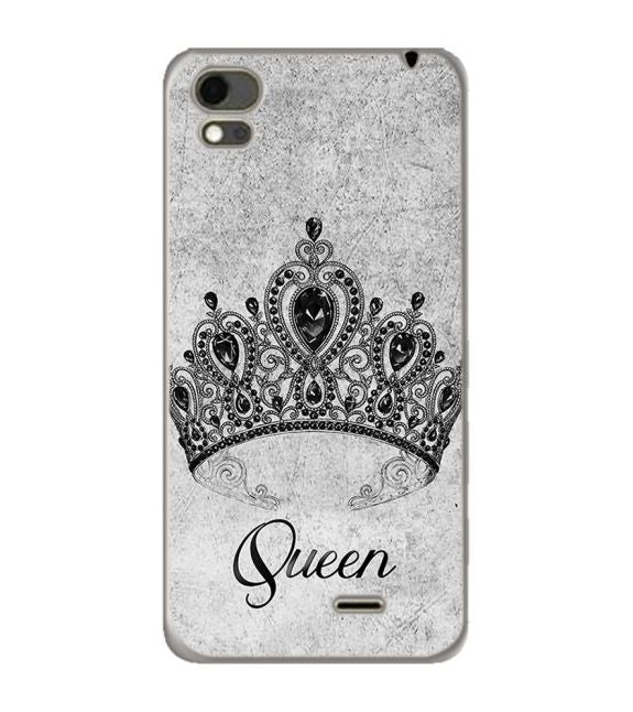Queen Back Cover for Karbonn Aura Note 4G