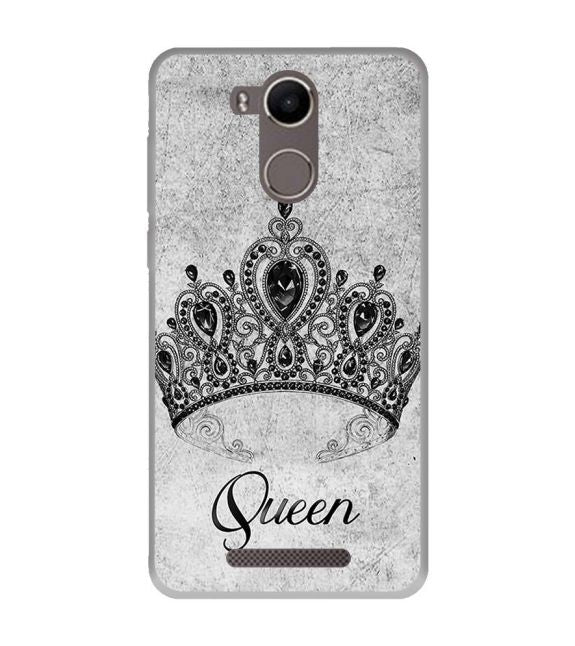 Queen Back Cover for Karbonn K9 Kavach 4G