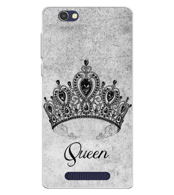 Queen Back Cover for Lava A72