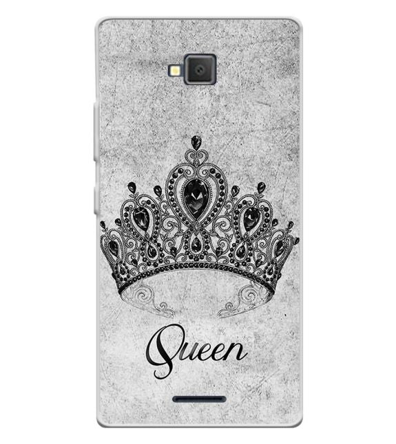 Queen Back Cover for Lava A82