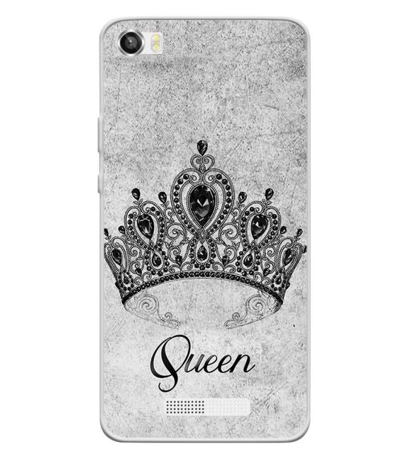 Queen Back Cover for Lava Iris X8