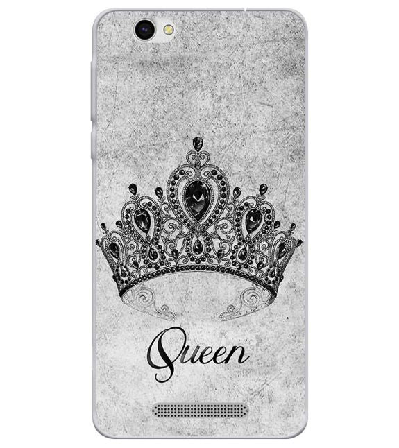 Queen Back Cover for Lava X28
