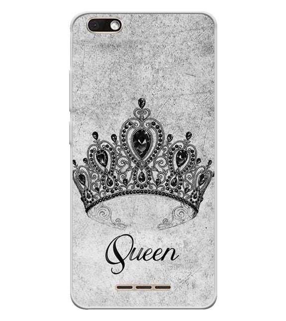 Queen Back Cover for Lava Z60s
